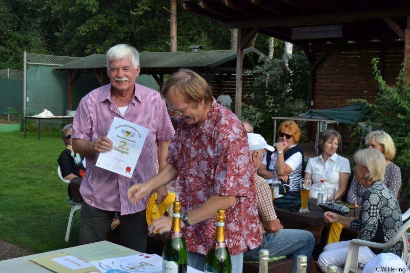 2. Sieger Lothar Sossalla