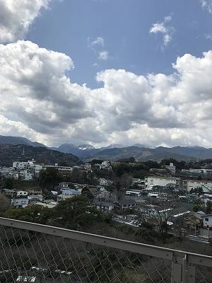 お城の上からの眺め