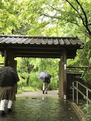 久良岐能舞台への入口です。