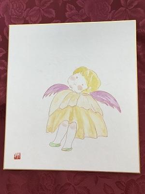 女性の受講生さん、天使さん、可愛い(^^♪