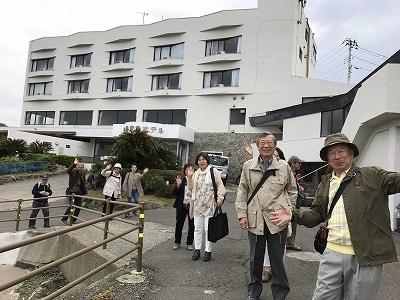 お昼は、ここの城ヶ島京急ホテルでランチ予定です。「みさきまぐろきっぷ」で交通費、お食事代、レジャーかお土産 3つもお得なきっぷで来ました(^^♪