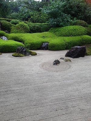 石庭もありました!