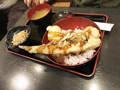 穴子丼もボリュームたっぷり!!みんな大満足して頂きました(^^♪