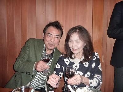 名司会のKさんと、乾杯~!!