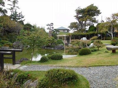 日本庭園は計算された素晴らしい景観でした。無料で庭園を自由に散策することが出来ます(^^♪