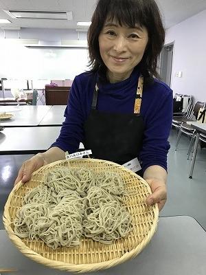細くてきれいなお蕎麦です(^^♪素晴らしい!