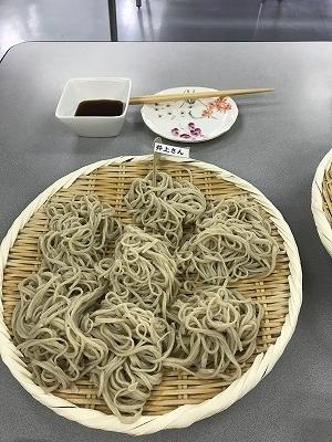井上さん作品コシがあり、美味しかった(^^♪