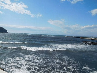 江の島の海(^^♪(^^♪