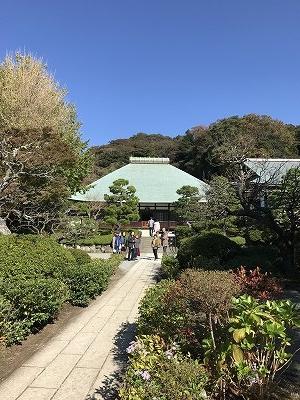 浄明寺に来ました(^^♪  庭園は、とても綺麗に手入れが行き届いてました。