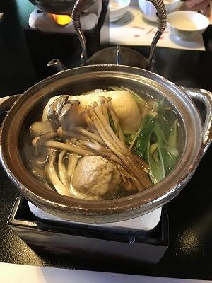 きのこの小鍋。