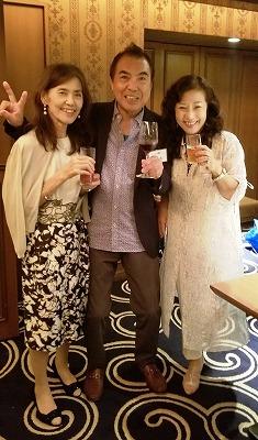 真ん中の司会者(川本さん)ありがとうございました。感謝💛
