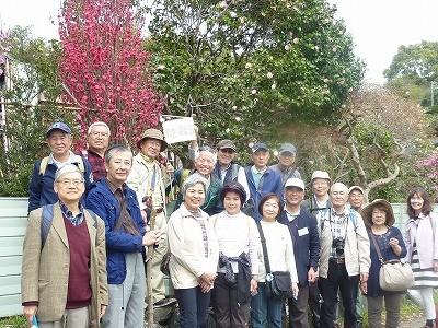 18名の参加者、大満足の楽しい散策でした~(^.^)/~~~