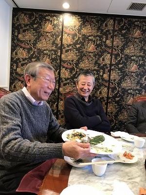 皆で美味しいお食事をしながら、楽しいおしゃべりが出来るって、最高の贅沢(^^♪