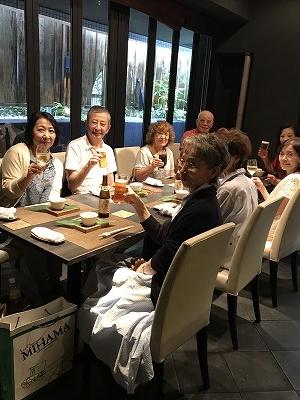 ここの懐石料理は会員さんのご紹介です!(^^)!