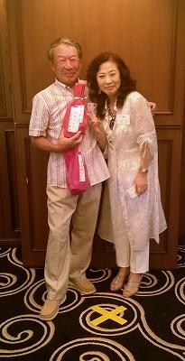 最優秀賞の田中さん、よく頑張りました!