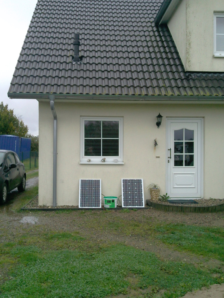 Sie haben ein Haus mit Garten, dann können Sie in Ihrem Garten mit einem I-Mehr® auch Strom ernten. / You have cottage? so you should strat earning enrgy in it with a I-Mehr®...