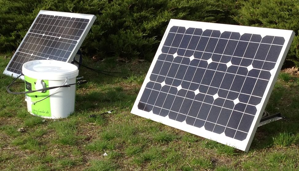 Klein, kraftvoll und regenerativ! Small, powerfull and renewable!