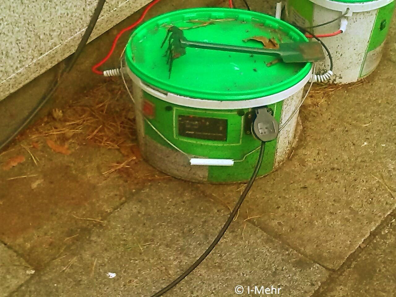 Auch unter nassen und schweren Bedingungen hart im Nehmen! / Also in case of difficult circumstances strong device!