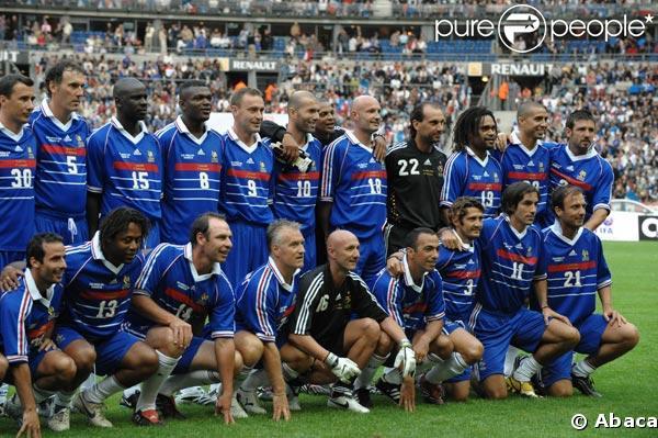 Equipe de France, championne du monde 1998