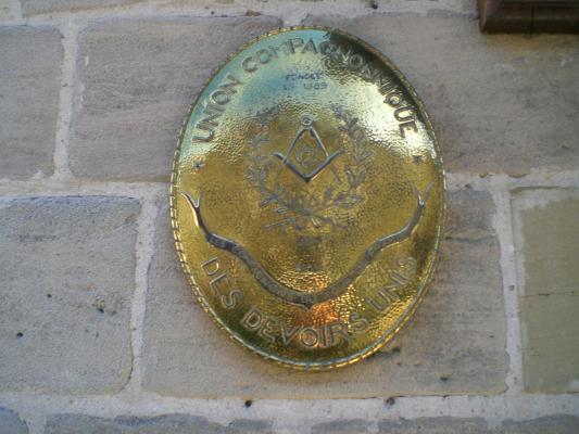 La plaque de la cayenne de Brive