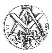 Les symboles de la cayenne, maison des compagnons
