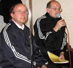 Youri Samodurov et Andreï Erofeev