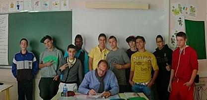 La classe de CA/MVA 2013/2014 Lavoisier