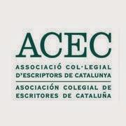 ACEC. Asociación colegial de escritores de Cataluña. Associació col·legial d'escriptors de Catalunya.
