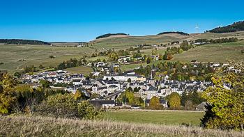 Allanche, un village du Cantal