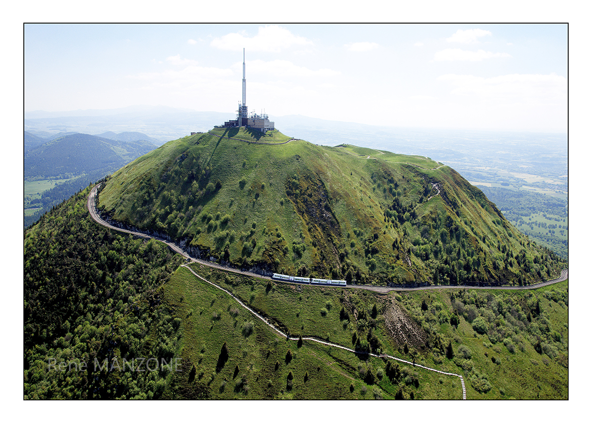 L'ascension du puy de Dôme avec le train panoramique
