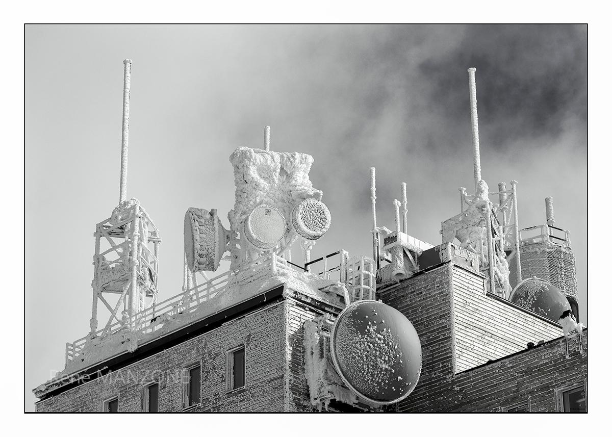 Observatoire et station météo du puy de Dôme