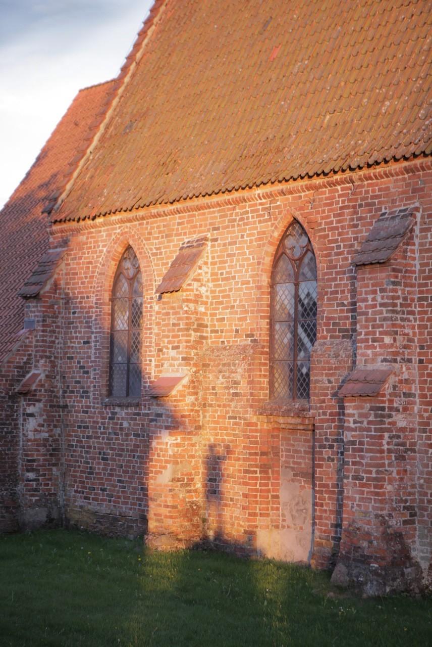 Kirche Herrnburg. Foto: Nina Strugalla