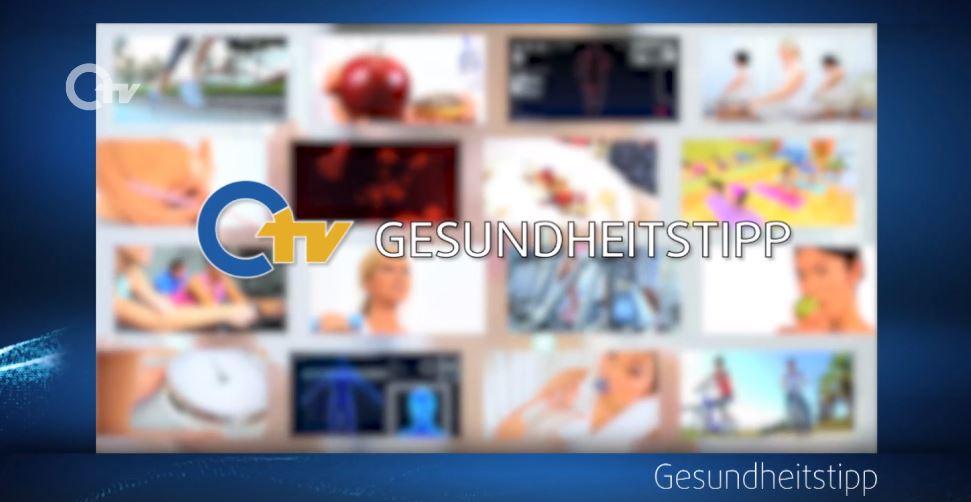 """Sendung """"Gesundheitstipp"""" auf OTV vom 19.08.2021"""