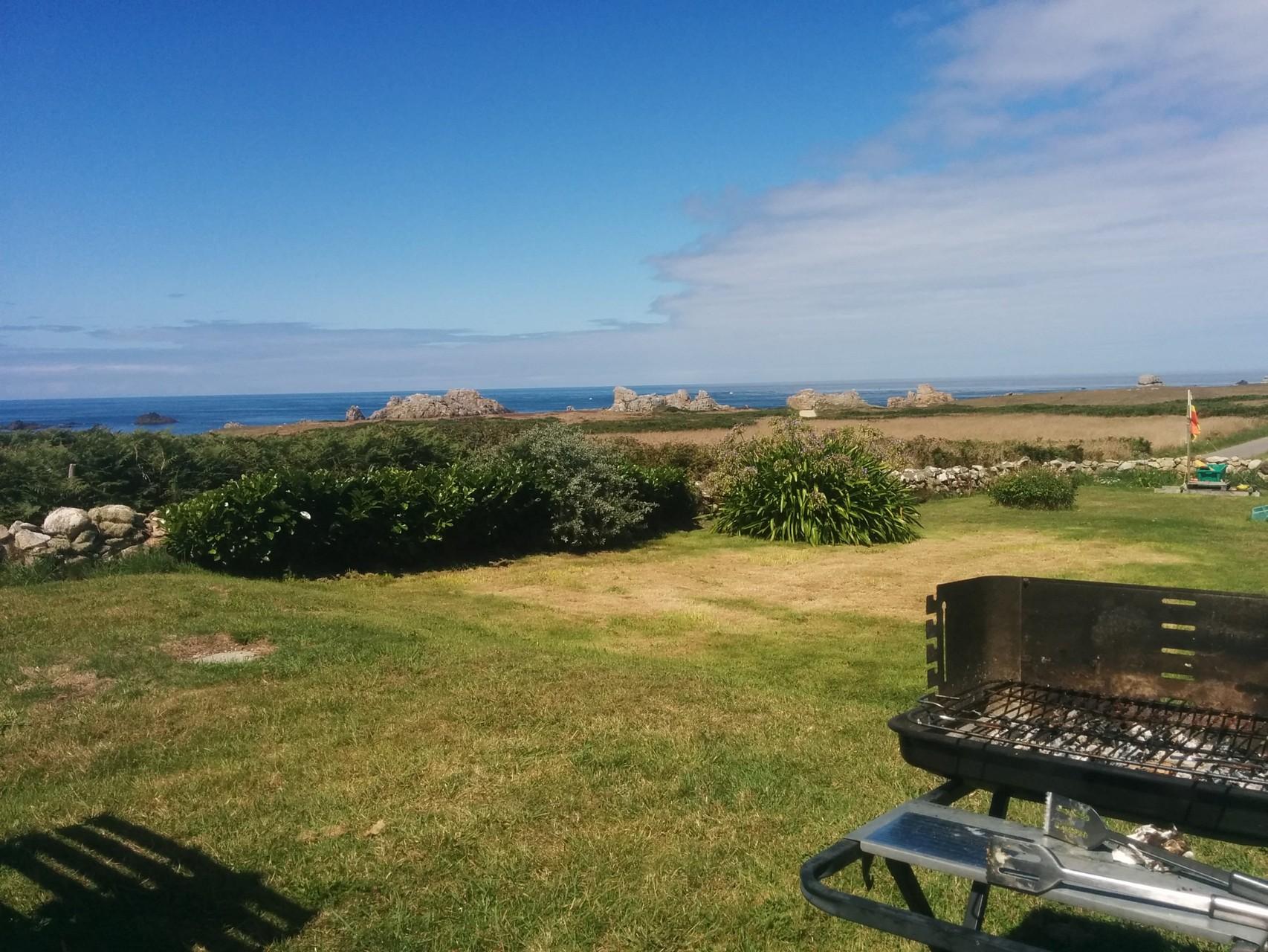 Endroit idéal pour un barbecue au bout du monde