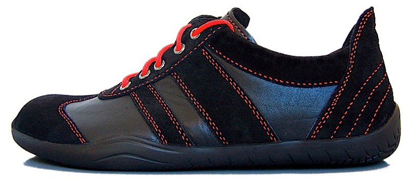 Senmotic barefoot shoes - Revolution F1 Black/Red