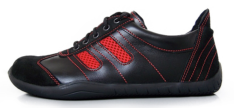 Senmotic barefoot shoes - Oxid F1 Black/Red