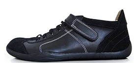 Senmotic barefoot shoes - Ruthenium F1 Black/White