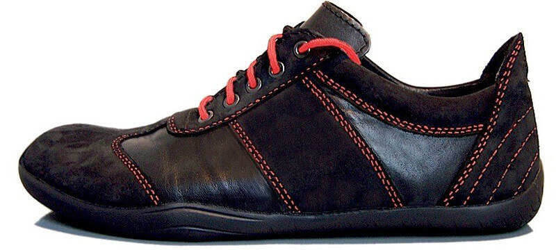 Senmotic barefoot shoes - Evolution F1 Black/Red
