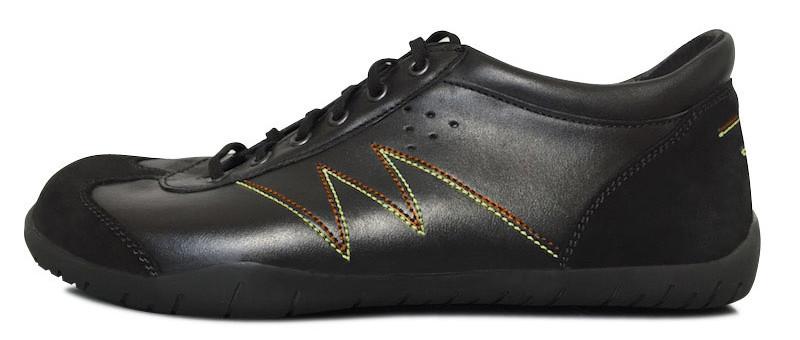 Senmotic running barefoot shoes - Tension F1 Black/Orange/Yellow