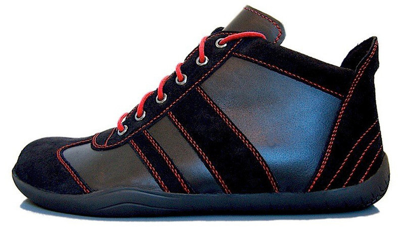 Senmotic barefoot shoes - Revolution H1 Black/Red