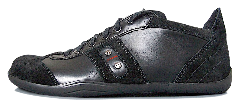 Senmotic barefoot shoes - Platinum F1 Black/Red