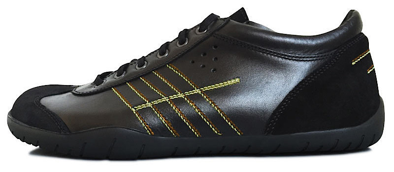 Senmotic running barefoot shoes - Rapido F1 Black/Orange/Yellow