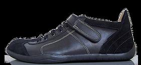 Senmotic barefoot shoes - Ruthenium F1 Black/Camel