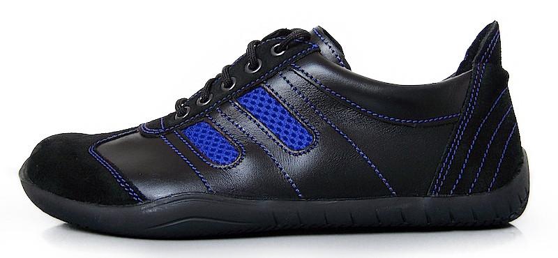 Senmotic barefoot shoes - Oxid F1 Black/Blue