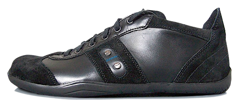 Senmotic barefoot shoes - Platinum F1 Black/Blue