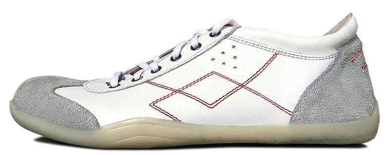 Senmotic indoor barefoot shoes - Sportivo F1 White/Red