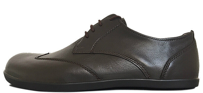 Senmotic business barefoot shoes - Fine F1 Black/Brown