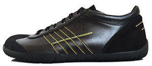 Senmotic running barefoot shoes - Rapido F1 Black/Orange/Yellow