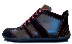 Senmotic barefoot shoes - Revolution H1 Black/Red