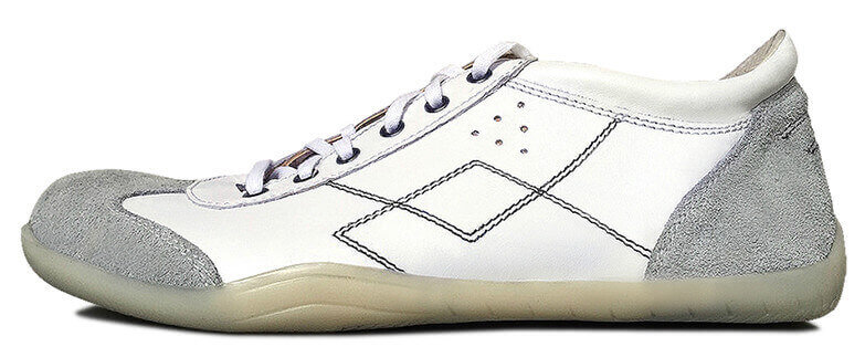 Senmotic indoor barefoot shoes - Sportivo F1 White/Black
